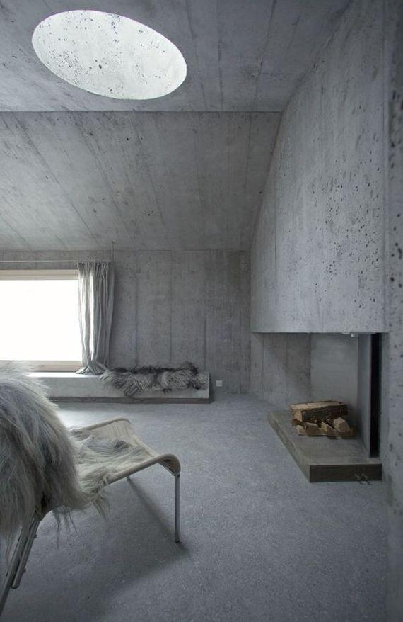 ático sin pintar, con las paredes de cemento u2026 Pinterest - paredes de cemento