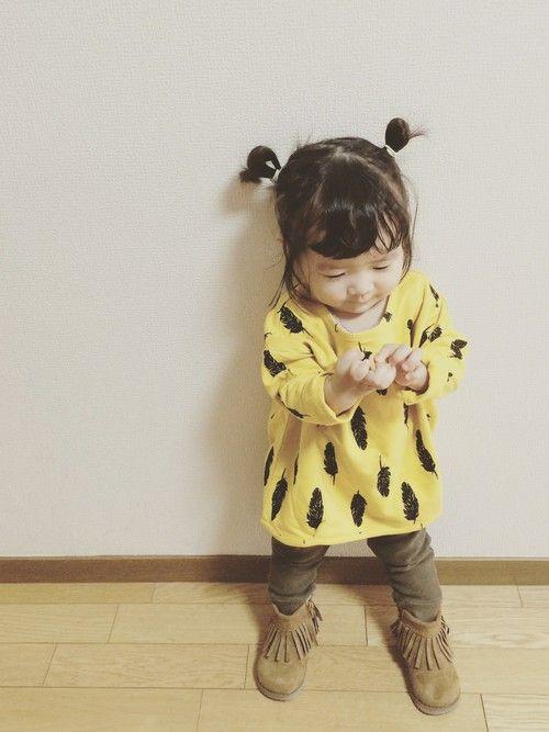 ひなたぼっこさんのスウェット「韓国服 」を使ったコーディネート