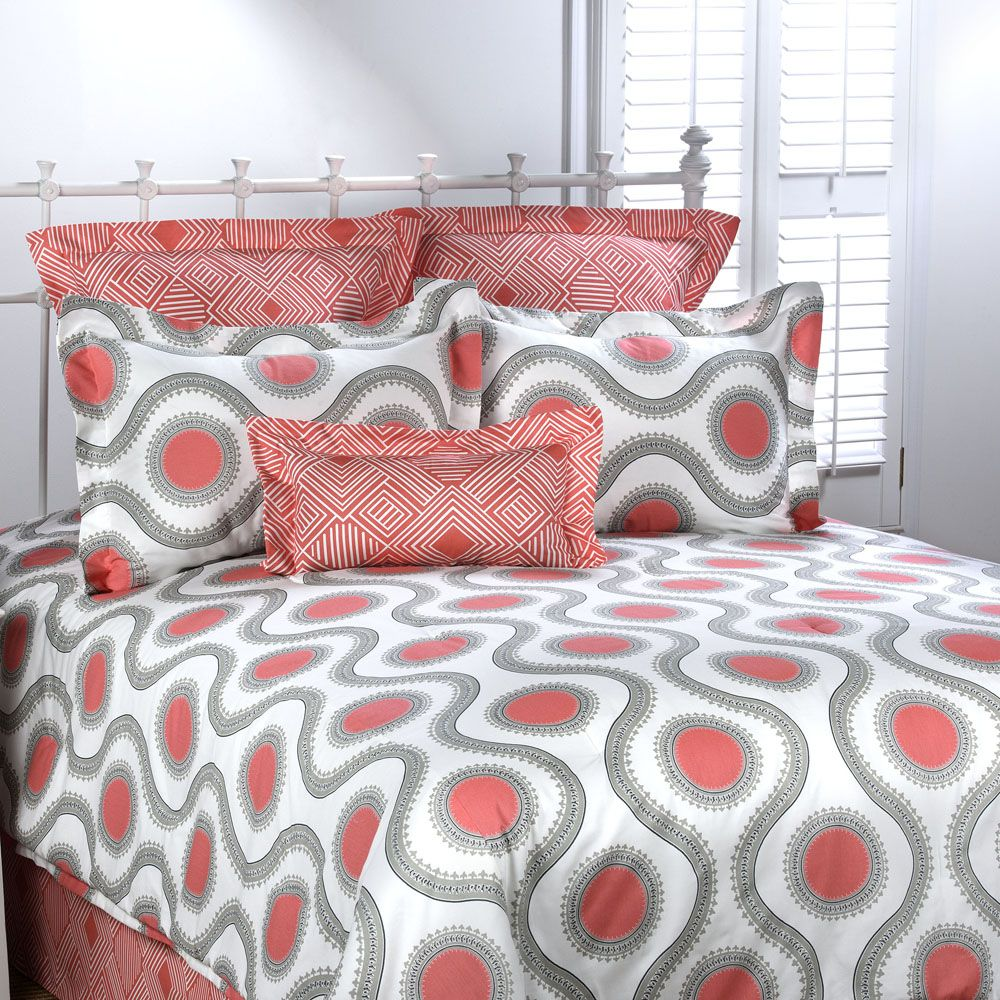 Marlowe Comforter Set by Victor Mill for students living in dorm rooms or apartments at college or boarding school, on campus or off.
