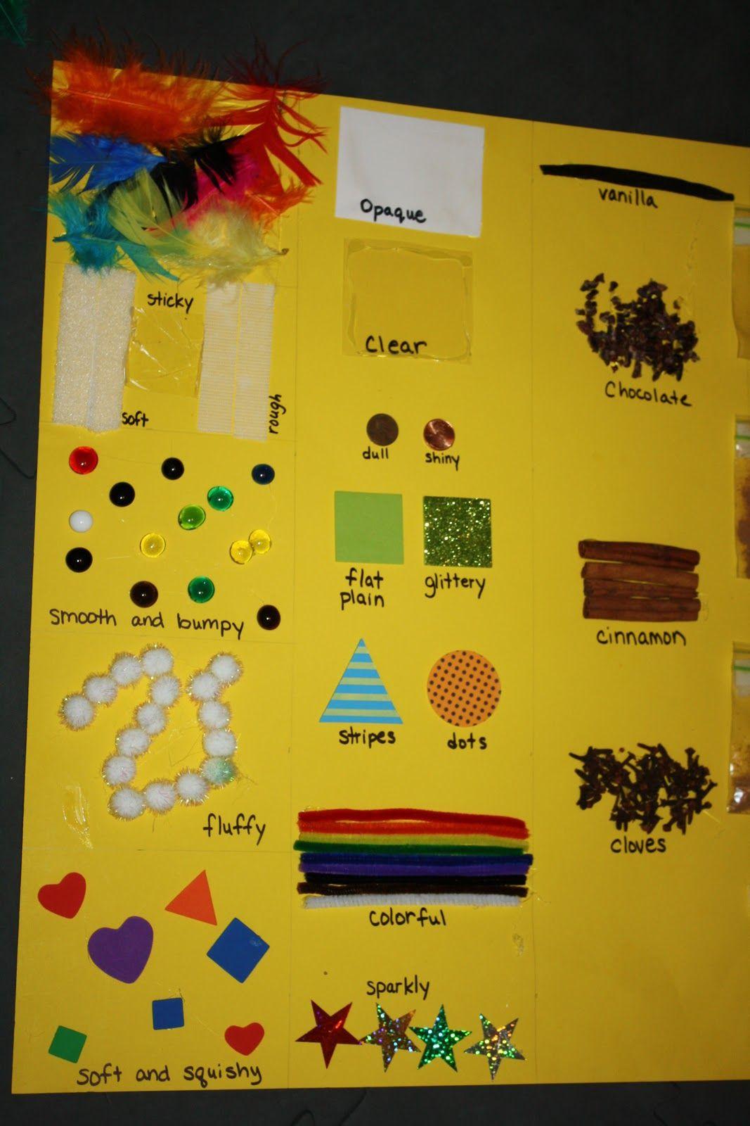 Five Senses Board