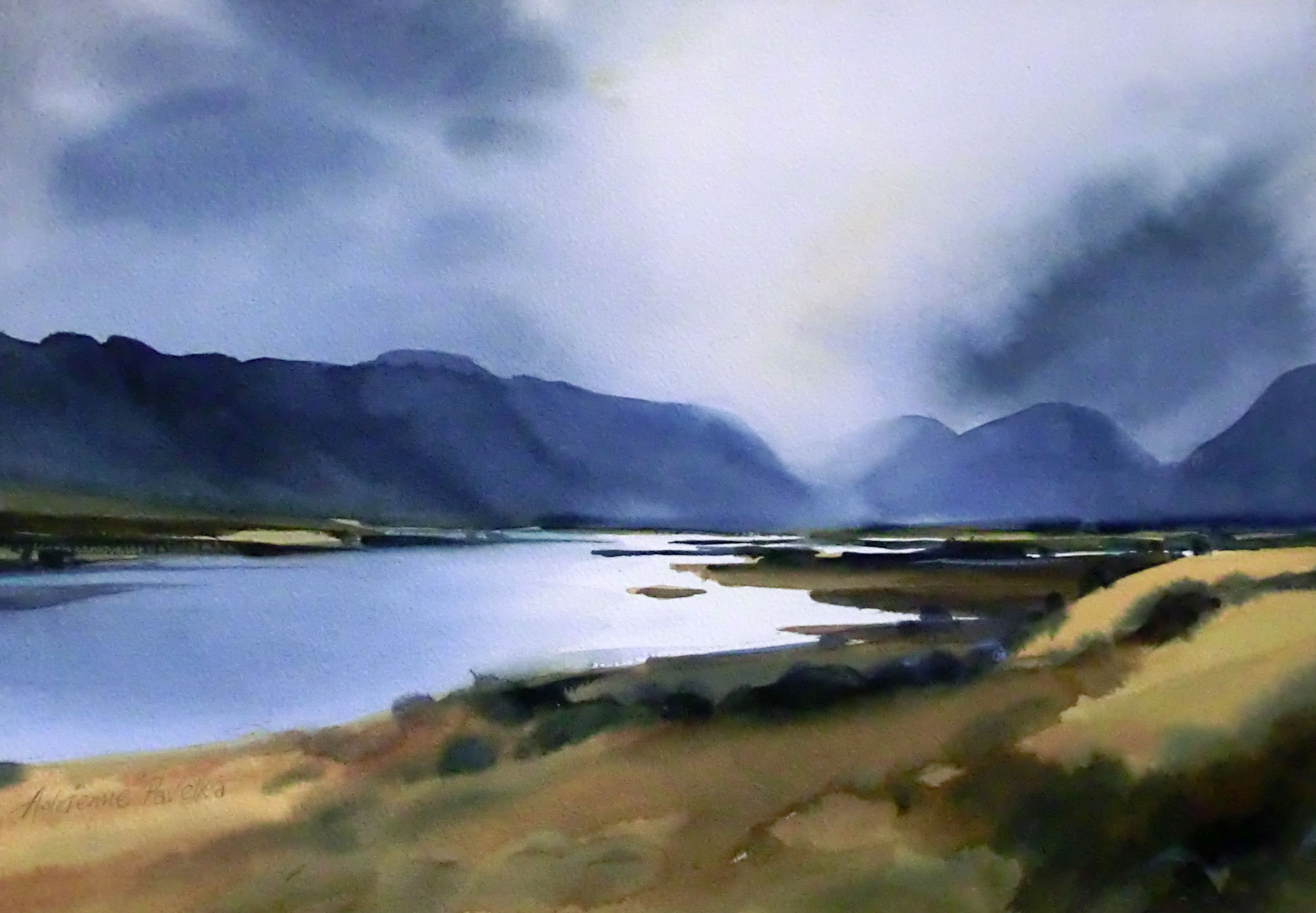 New Zealand Adrienne Pavelka Google Search Watercolor