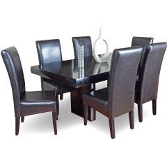 Dining Room Suites 7 Piece Fushion Dining Suite For Sale In