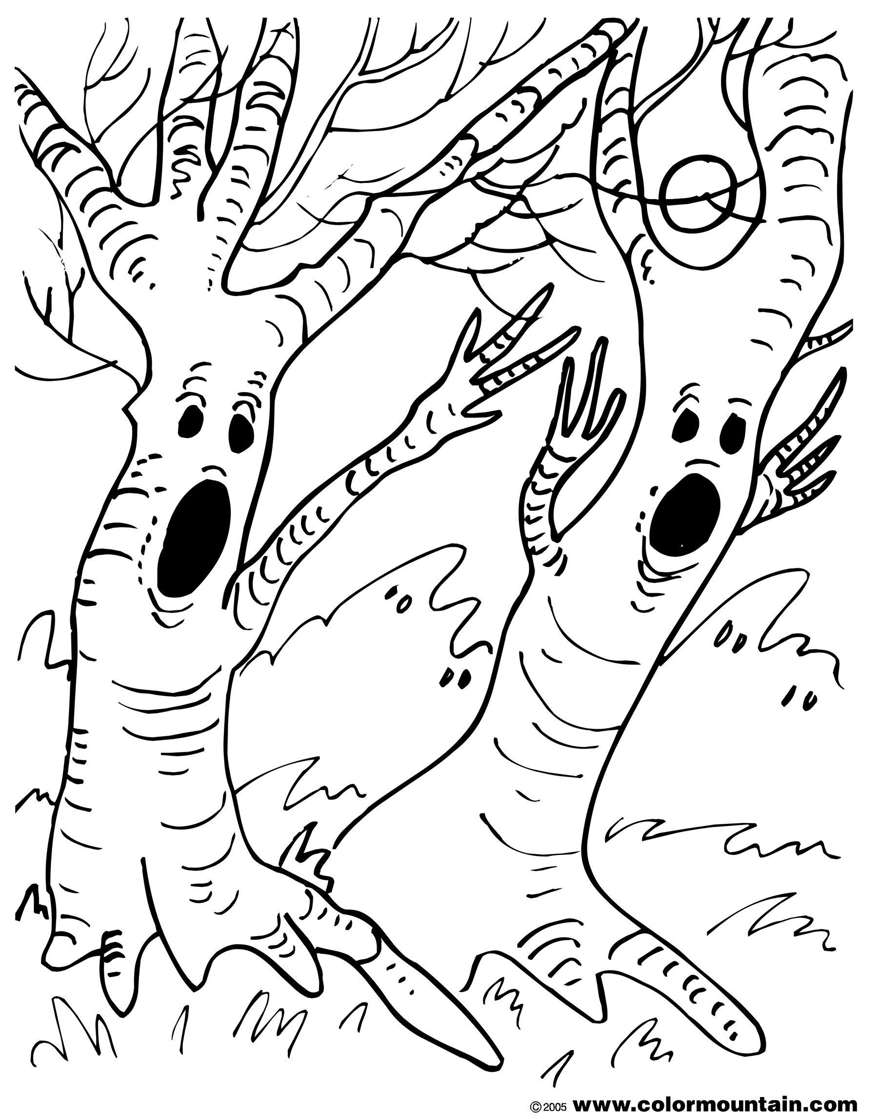 Único Crayola Halloween Para Colorear Adorno - Dibujos Para Colorear ...