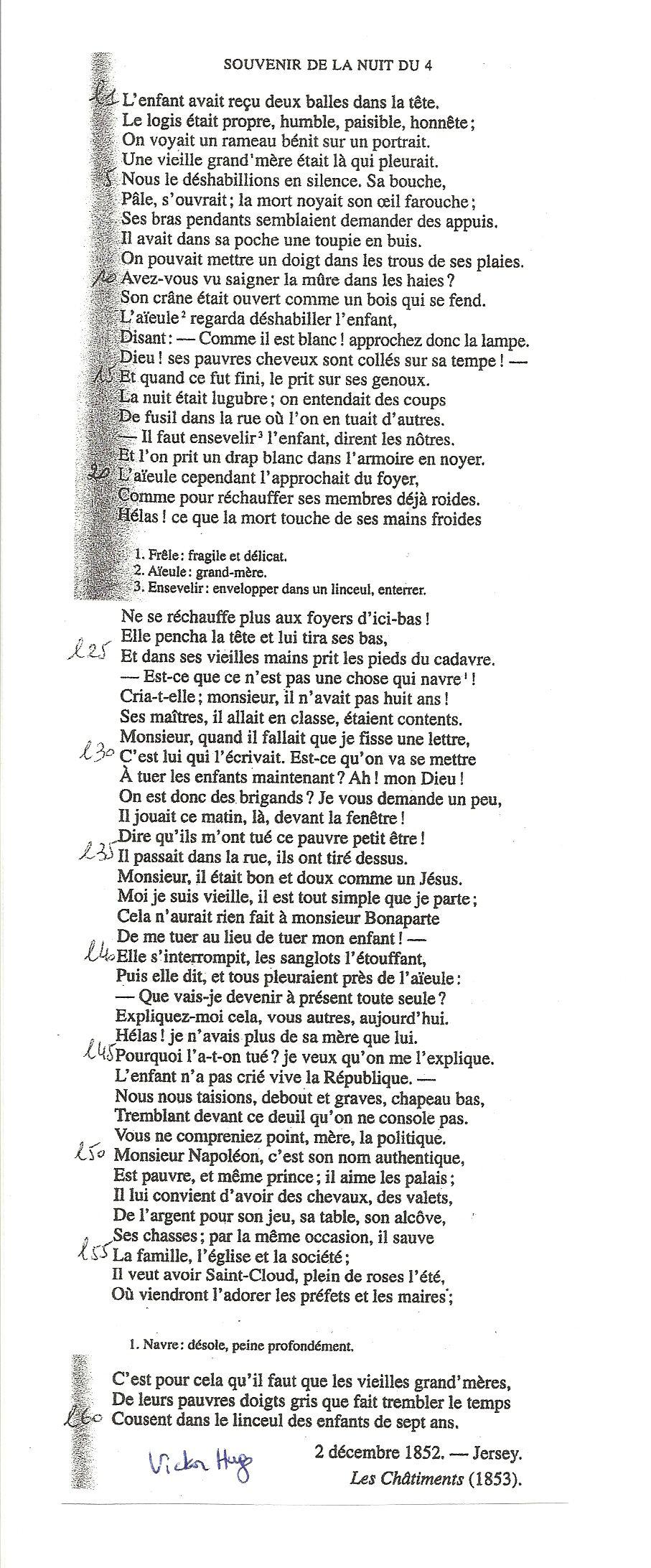 Souvenir De La Nuit Du 4 Victor Hugo : souvenir, victor, Épinglé, L'art, Libertés