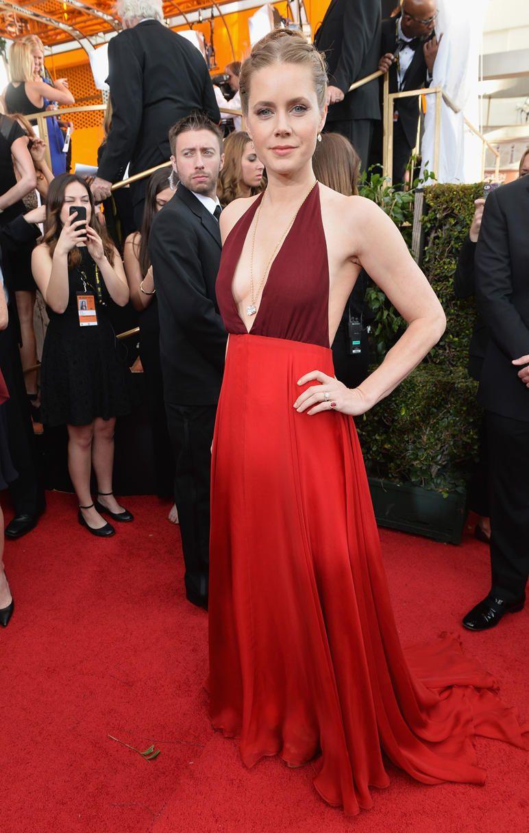 Amy Adams American Hustle Red Carpet Fashion Actress Amy
