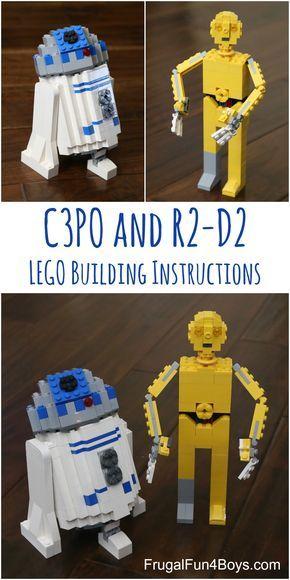 Lego Star Wars C3po Building Instructions Legos Lego And Kid