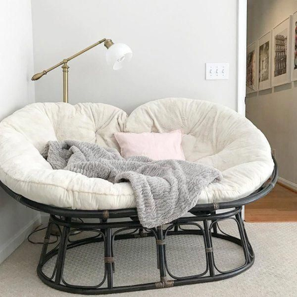 Papasan Double Taupe Chair Frame In 2020 Romantic