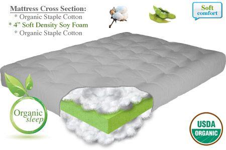 Organic Futon Bed Los Angeles Mattress Santa Rosa Natural Rest The