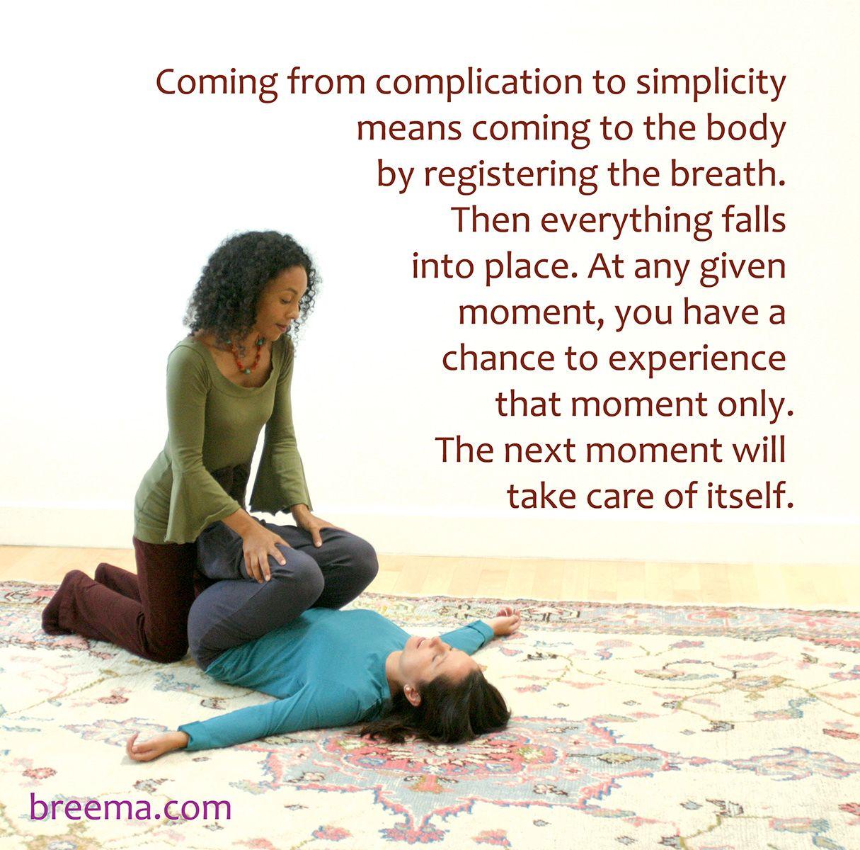 Pin by The Breema Center on The Breema Practice | Massage ...