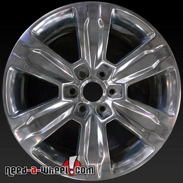 2015 2017 Ford F150 Oem Wheels For Sale 20 Polished Stock Rims