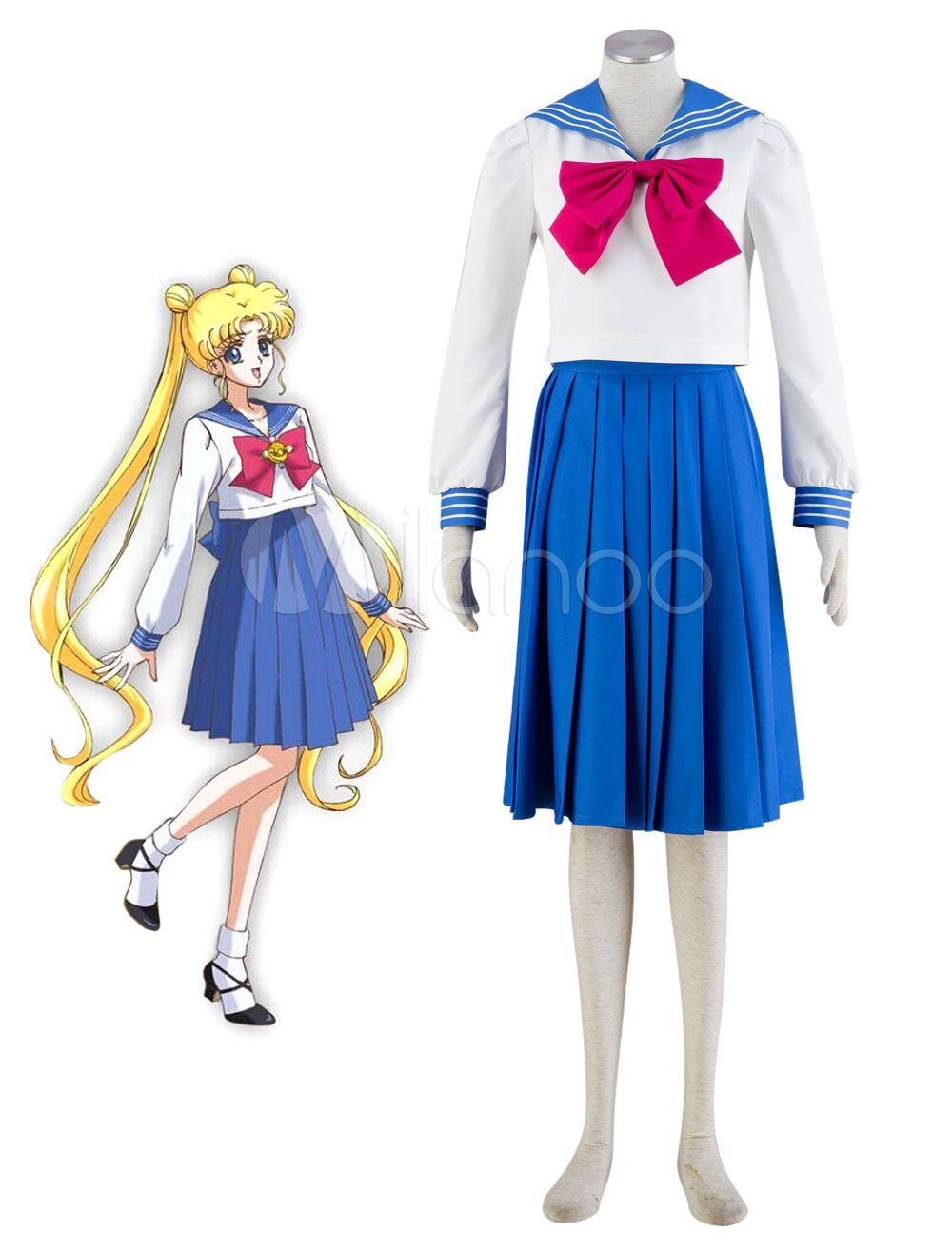 Sailor Moon Tsukino Usagi School Girl Uniform Carnival Cosplay Costume Cosplay Dress Cosplay Costumes Cosplay Outfits