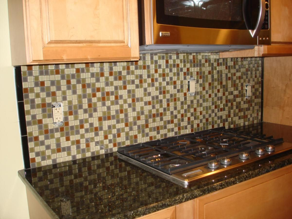 Decorative Tile Kitchen Backsplash I Thought I Liked These Glass Tilesbut They Look Too Busy