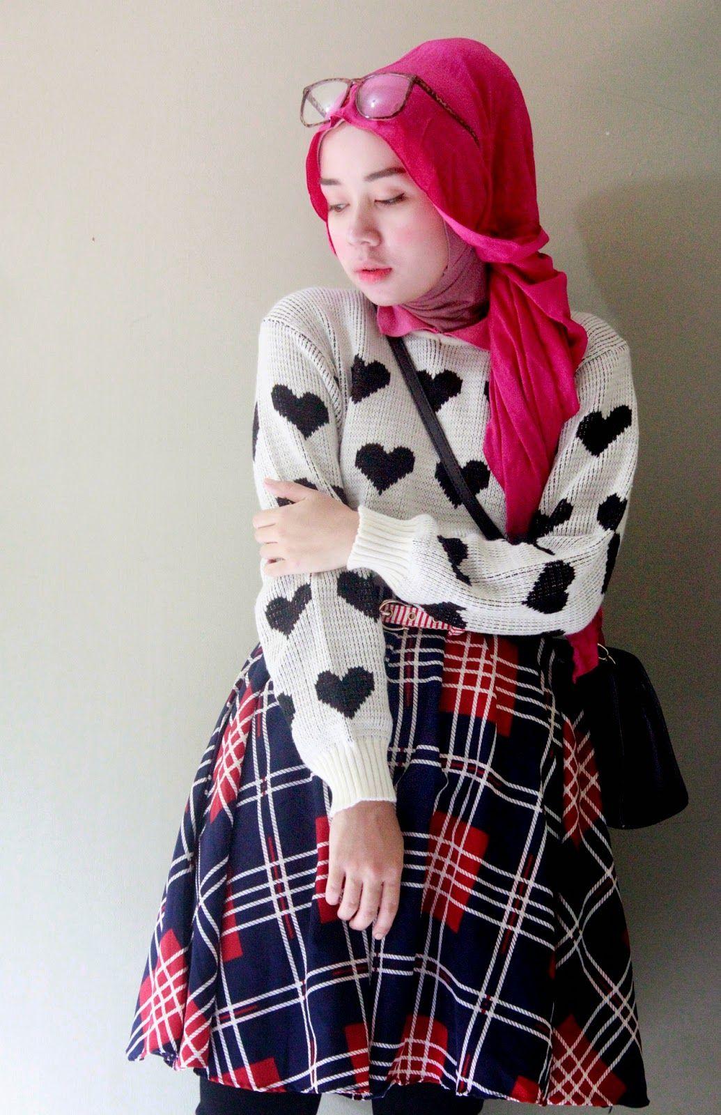 17 Tutorial Hijab Qonita Al Jundiah Tutorial Hijab Terbaru Tahun