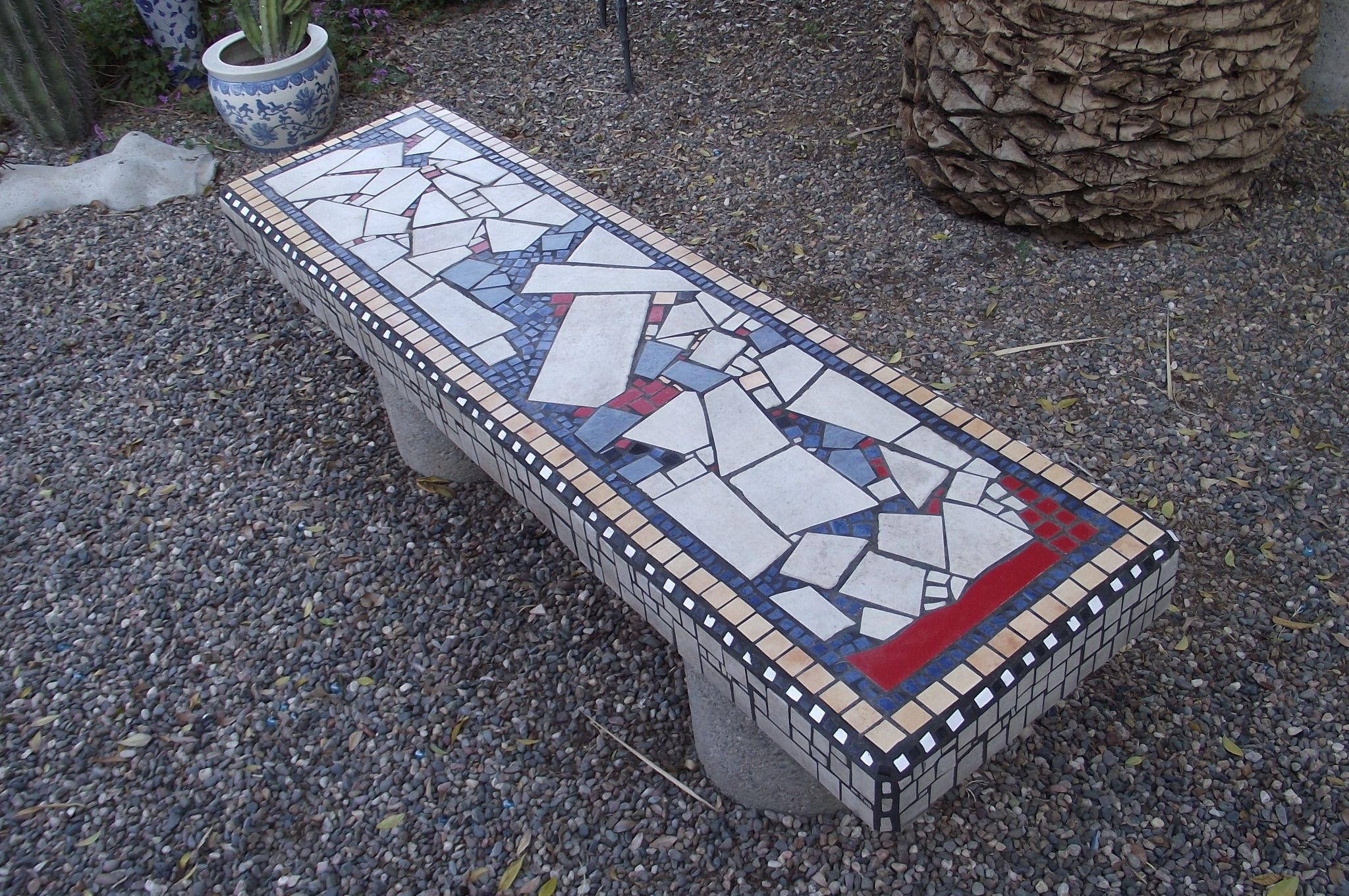Groovy This Is A Concrete Garden Bench That I Made 100 Pour The Inzonedesignstudio Interior Chair Design Inzonedesignstudiocom