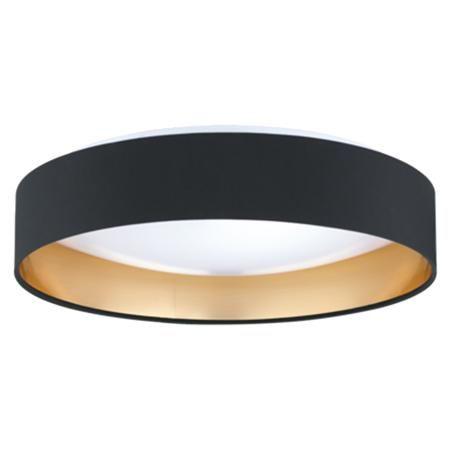 Modern ringed led ceiling light ceiling lights colour black and modern ringed led ceiling light aloadofball Choice Image