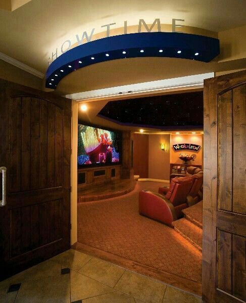 Home Theatre Design Concepts: The Basement Is An Absolutely Excellent Area For A Cool