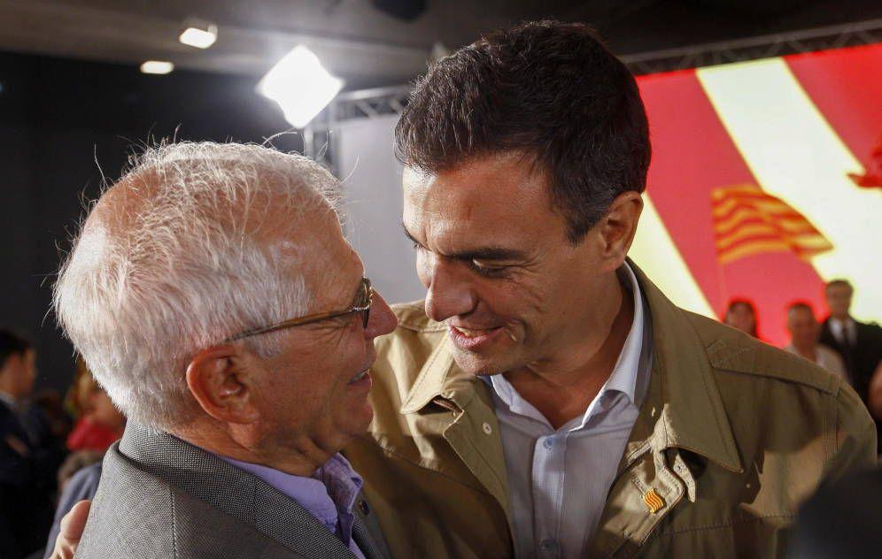 Borrell Elorza y afines a Pedro Sánchez se preparan para apoyar su candidatura