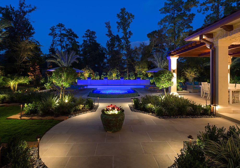 Design Gallery Award Winning Nighttime Photos Landscape Lighting Outdoor Lighting Led Landscape Lighting