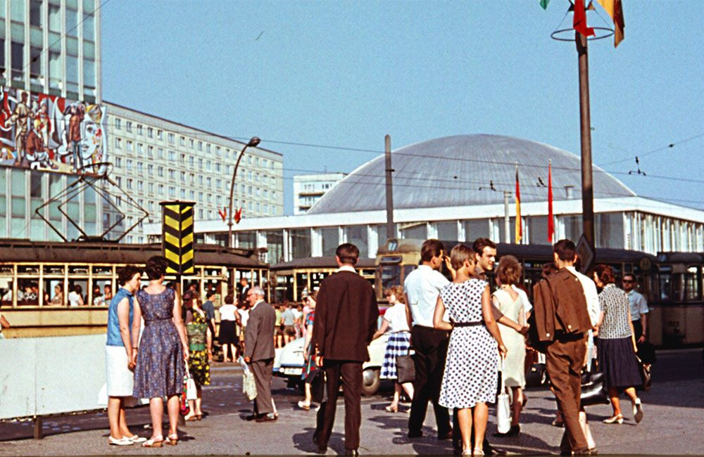 Ost-Berlin in den 60er. Kongresshalle am Alexanderplatz | Foto: Sammlung Horst Jesse