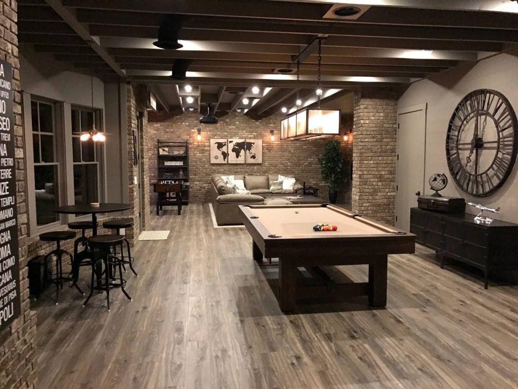 Nice 34 Cozy Gym Room Design Ideas For Family. Basement