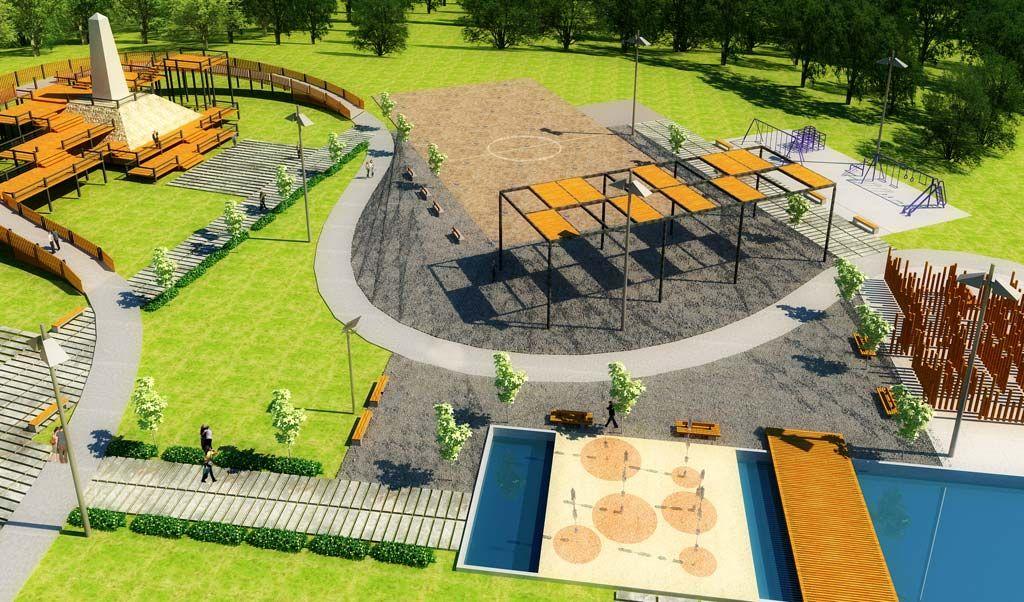 Pin De Luz Angela Ramirez Rico En Proyectos Urbanismo Arquitectura Paisajista Parques Deportivos Diseno De Plaza