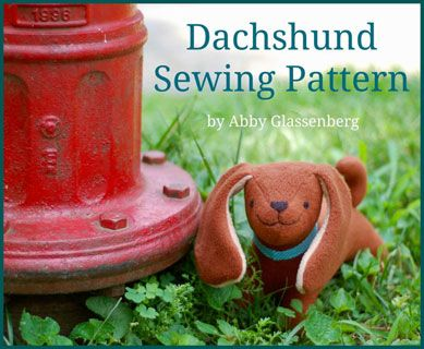 Abby Glassenberg Dachshund Puppy- Downloadable Pattern