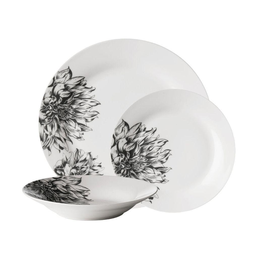 Buy Avie Botanic 12 Piece Dinner Set from our Dinner Sets range at Tesco direct.  sc 1 st  Pinterest & Avie 12pc Botanic Dinner Set Porcelain | DINE | Pinterest | Dinner ...
