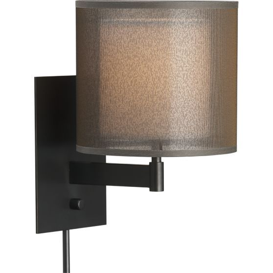 Eclipse Antiqued Bronze Wall Sconce Reviews Crate And