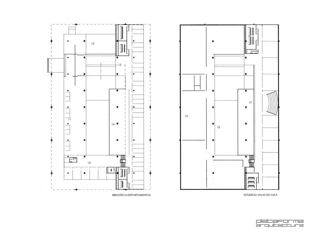 Gallery of ad classics faculty of architecture and for Plan de estudios arquitectura uni