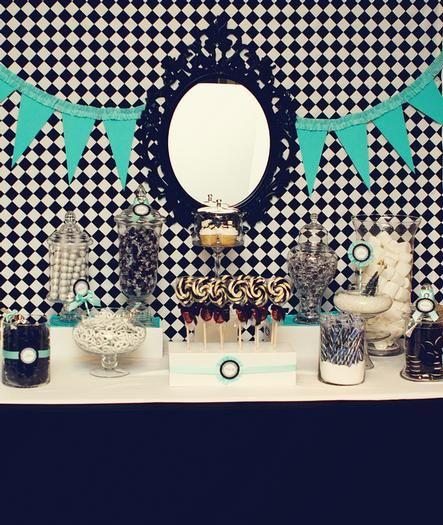 Tiffany Blue And Black Wedding Ideas: Black & White With Tiffany