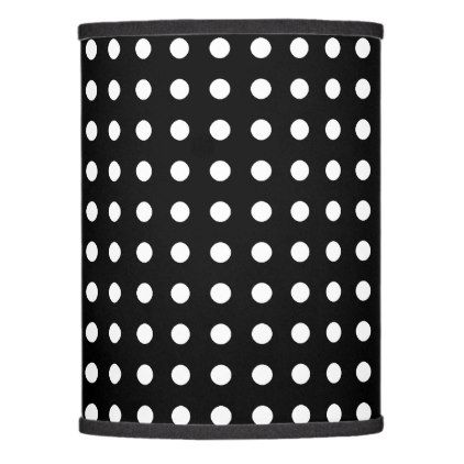 Classic black and white polka dots lamp shade classic black and white polka dots lamp shade patterns pattern special unique design gift idea aloadofball Gallery