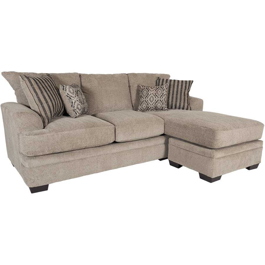 Sofa Stores Near Me: Cornell Platinum Sofa With Chaise