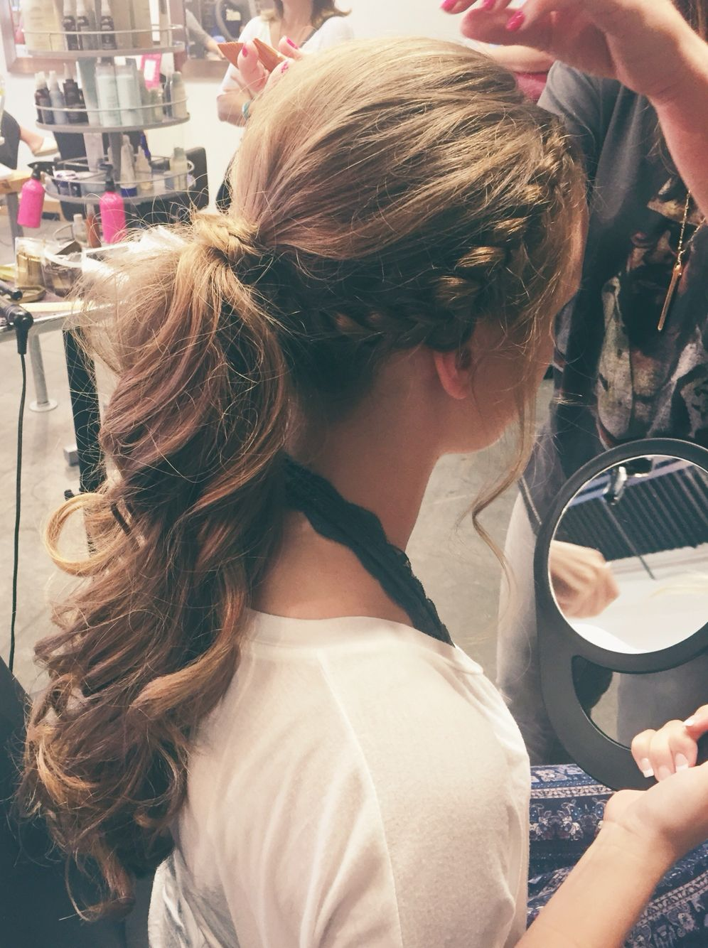 Formal Ponytail Winter Formal Hairstyles Pinterest Prom Hair