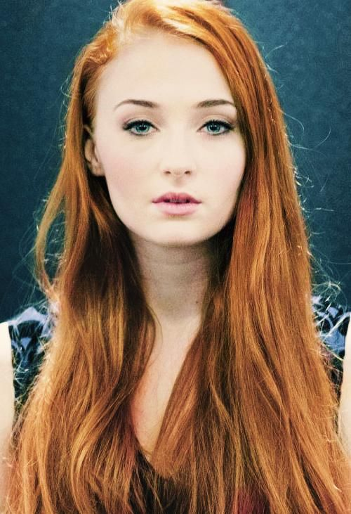 Married To A Redhead Long Hair Styles Sophie Turner Game Of Thrones Girl