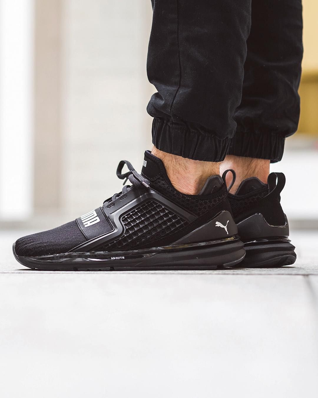 black puma ignite limitless