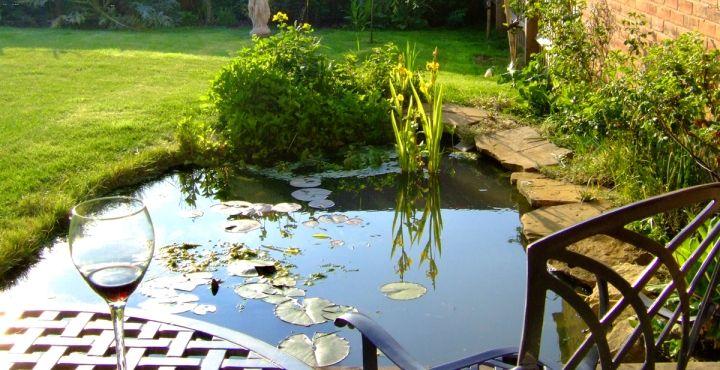 cmo elegir la ubicacin de un estanque en el jardn - Estanques Jardin