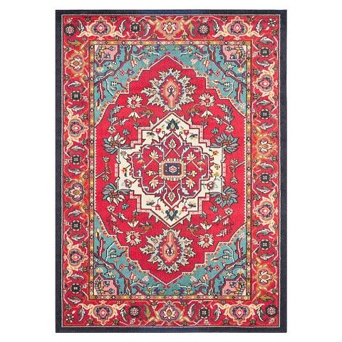 Safavieh Essie Rug - Red/Turquoise   Living Room   Pinterest   Small ...