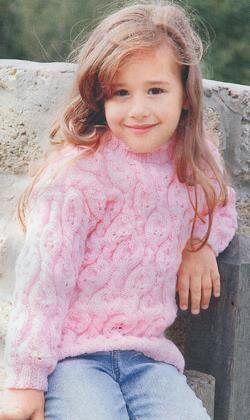 схема вязание кофта для девочки 5 лет бесплатно спицы девочка