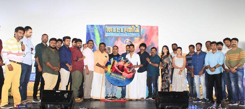 Producer C V Kumar Emotional Speech At Titanic Kaadhalum Kavundhu Pogum Movie Audio Launch