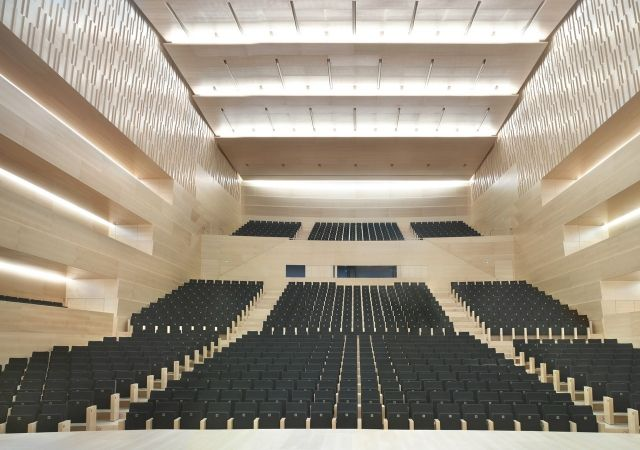 Projects conference centres auditori i palau de for International seating and decor