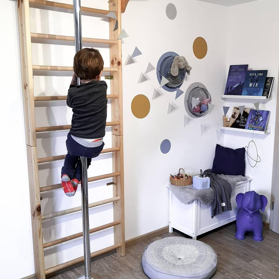 Rutschstange Kinderzimmer