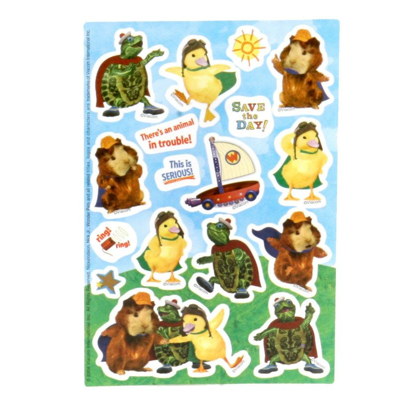 Wonder Pets Stickers 2 Count Wonder Pets Halloween Costumes