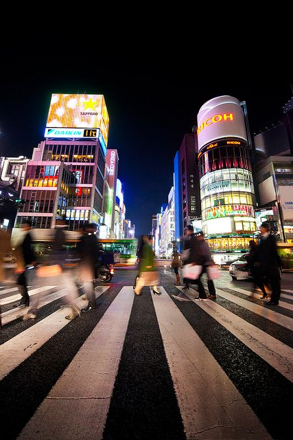 Ginza : Chuo, Tokyo, Japan / Japón by Lost in Japan, by Miguel Michán, via Flickr