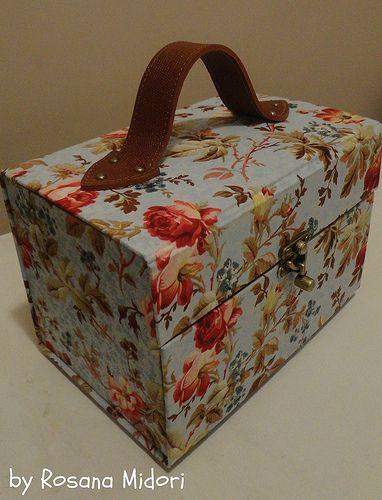 Caixa de esmaltes em cartonagem   Flickr - Photo Sharing!