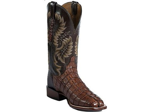 Shop New Lucchese Cy7413w8 Mens Caiman Crocodile And