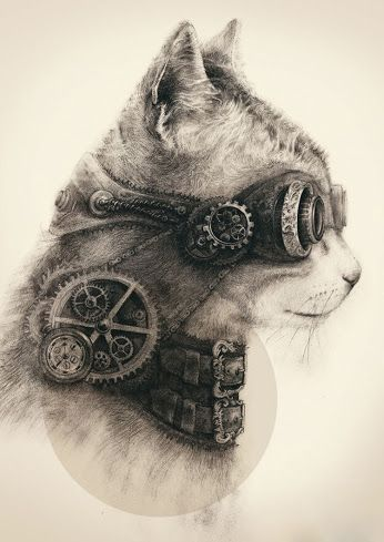Steampunk Kitty