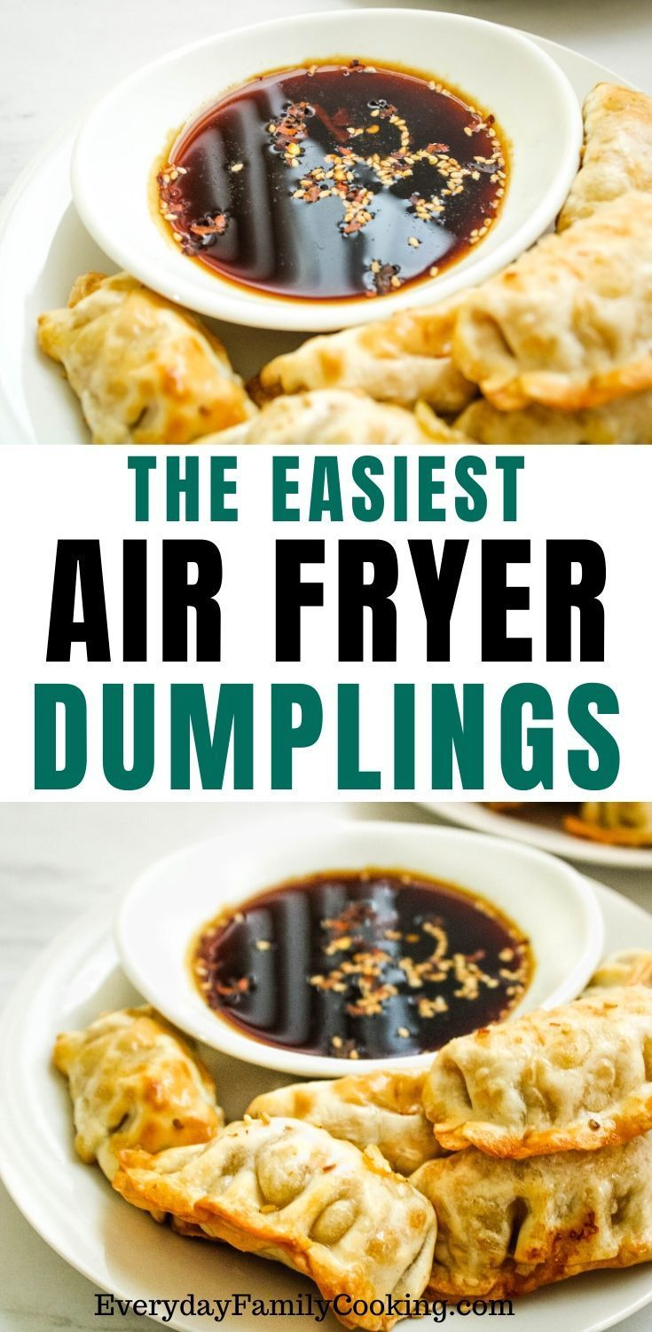 Air Fryer Dumplings Recipe in 2020 Recipes, Food, How