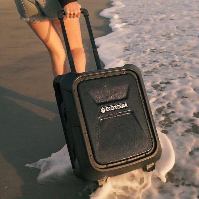 EcoBoulder Waterproof Portable BT Speaker by ECOXGEAR -  . http://mtr.li/2kBE2Xf #musthave #musthaves #loveit