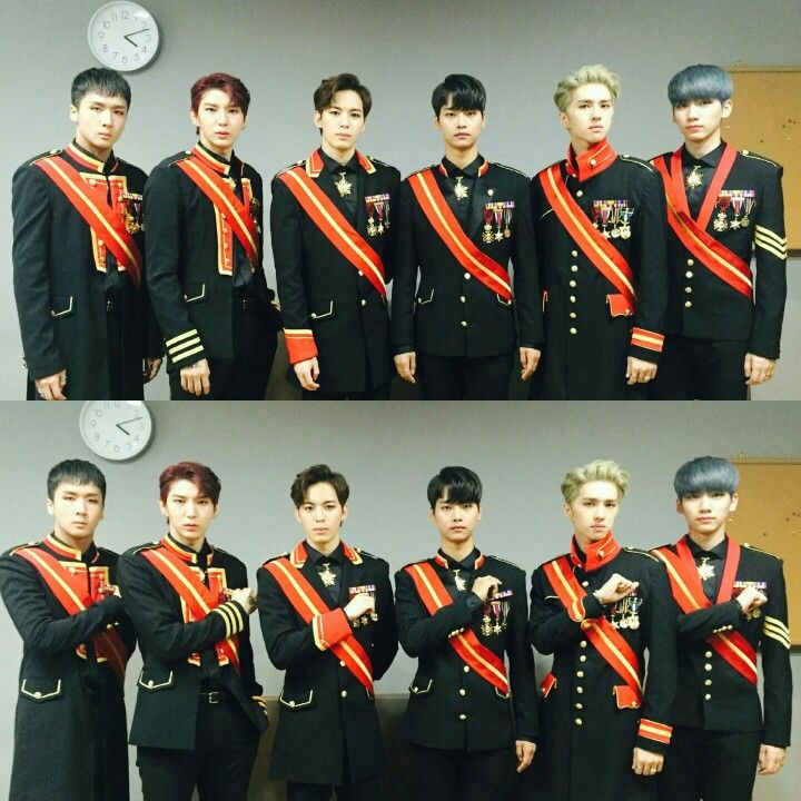 VIXX The Closer // In my opinion, the whole military outfit concept