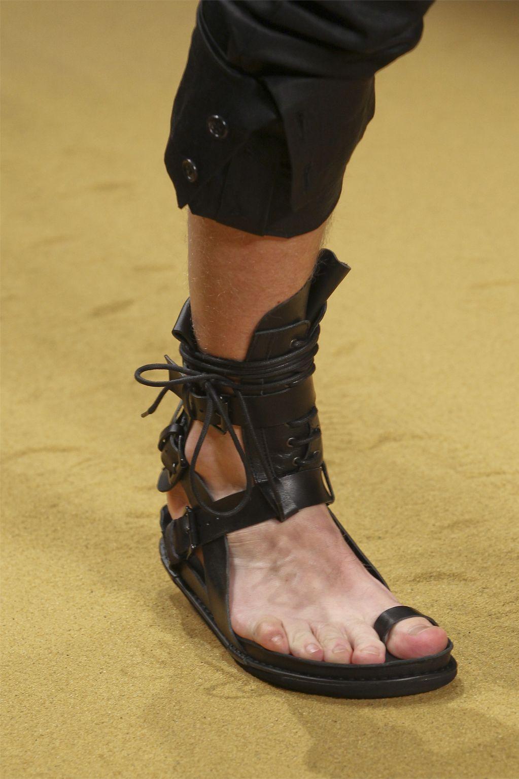 ba4c9f1d7232 Items similar to Leather Gladiator Sandals for Men handmade on Etsy